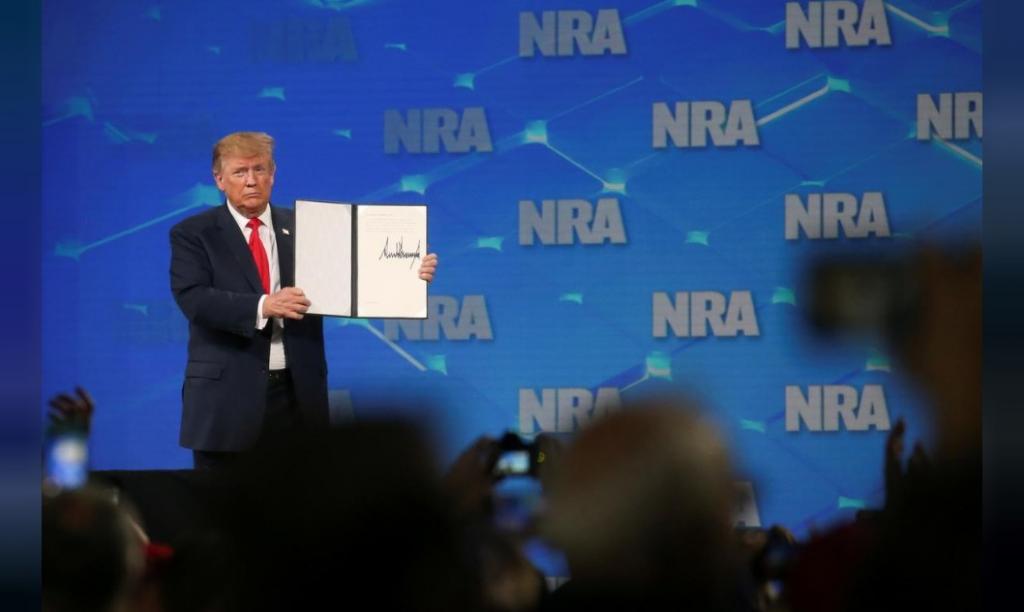 США вийде з Міжнародного договору про торгівлю зброєю, - Трамп