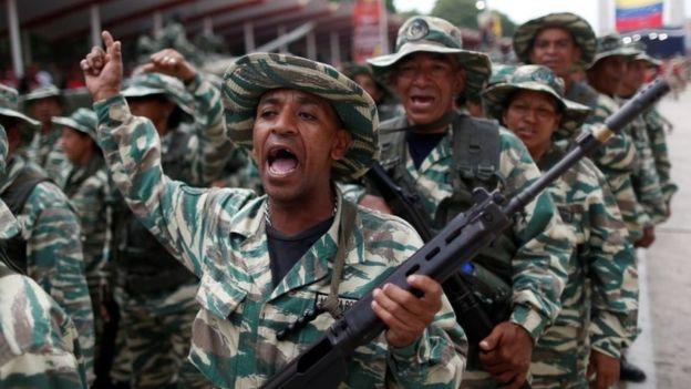 Мадуро збільшення національної поліції