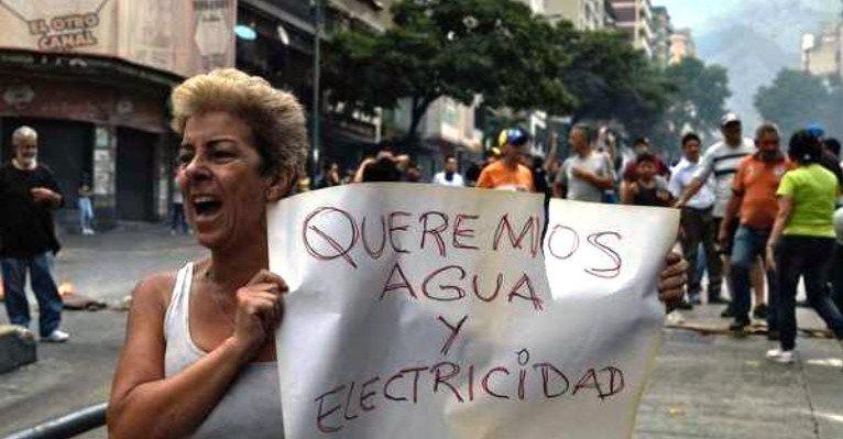Жителі Венесуели вийшли на демонстрації