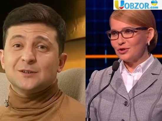 В штабі Зеленський заявив, що про прем'єрство Тимошенко мова не йде
