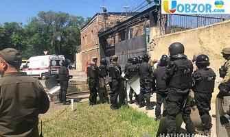 Бунт в одеській колонії: Опубліковано відео заворушень