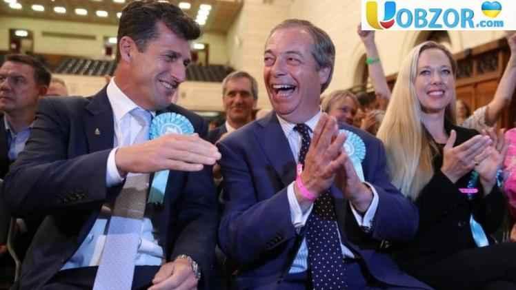 Партія Brexit перемогла на виборах у Великій Британії