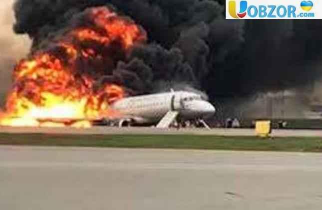 Причини аварії літака в Шереметьєво - помилка пілотів