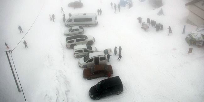 В Туреччині випав сніг