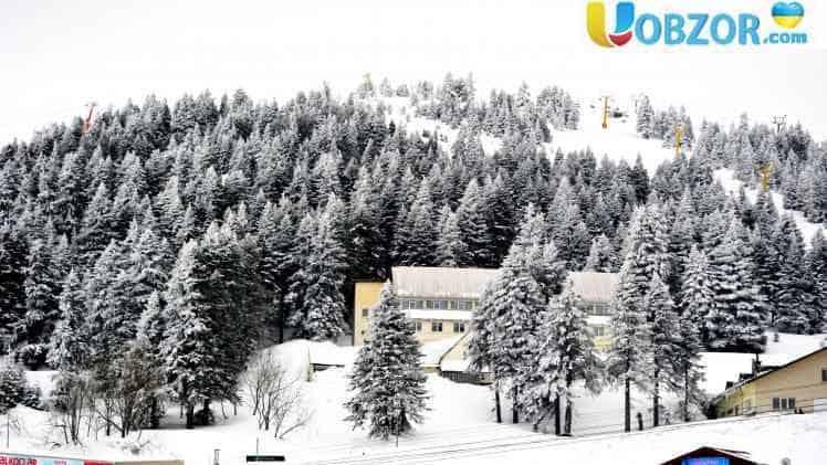 В Туреччині випав сніг висотою 6см
