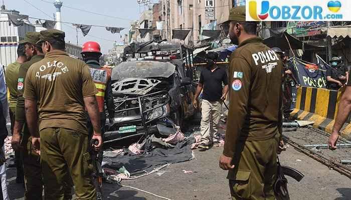 Вибух в Пакистані поблизу храму: загинуло вісім людей, є поранені