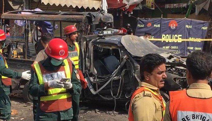 Вибух в Пакистані