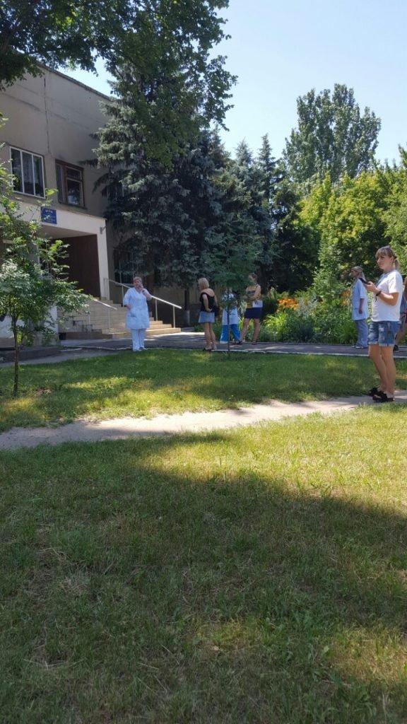 Замінування лікарень в Миколаєві