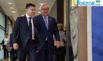 Зеленський провів зустріч з президентом Єврокомісії Юнкером