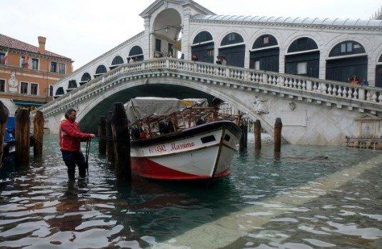 Найбильше затоплення у Венеції