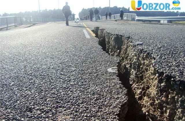 Сильний землетрус в Україні й по всьому Світу