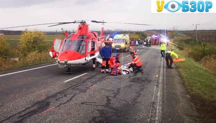 Страшна аварія у Словаччині: 13 загиблих, близько 20 травмувалися