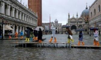 Венеція затоплення