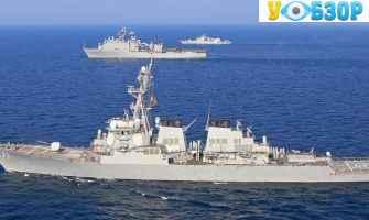 Американський ракетний есмінець «Росс» зайшов в Одесу