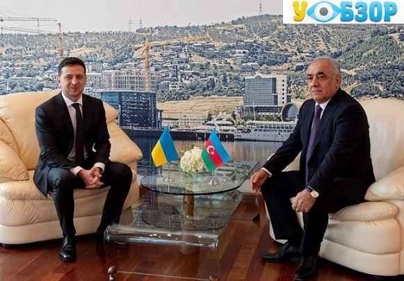Зеленський знаходиться в Азербайджані з офіційним візитом