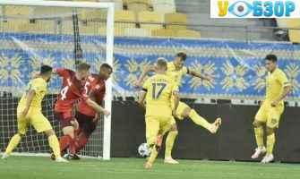 Збірна України успішно стартувала в Лізі націй з рахунком 2:1